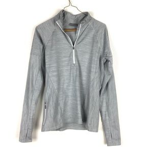 Athleta space dye 1/4 zip pullover jacket